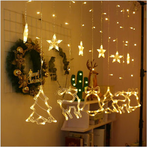 Christmas creative lighting