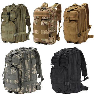 Spring Sale - Waterproof Outdoor 3P Backpack US Army