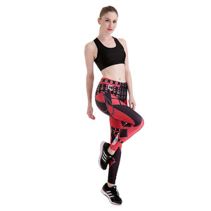 LADY COLOR MIXING LEGGINGS LEGGINGS HIGH WAIST