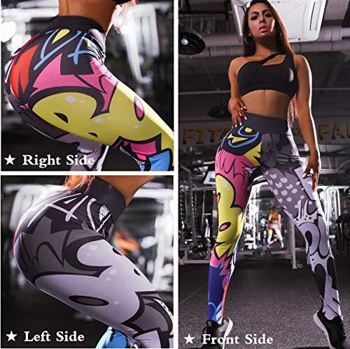 Punk Style Breathable Elastic Women's Leggings