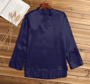 Zanzea Silk Mens Shirt