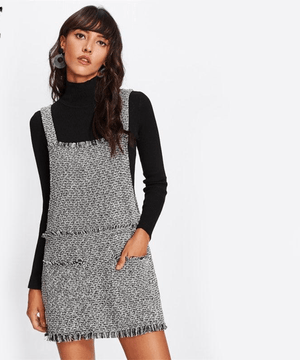 Silkweed Tweed Ladies Pinafore