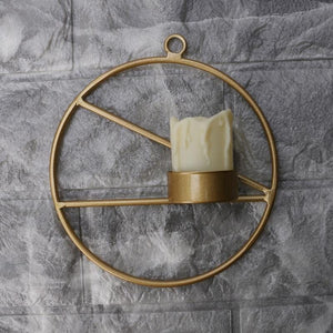 Geometric Wall Candle Holder