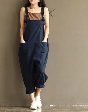 Natural Spruce Ladies Overalls