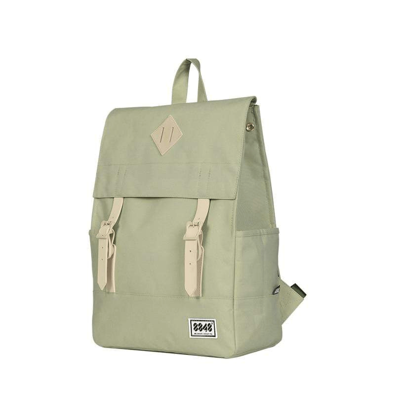 Square Canvas Backpack