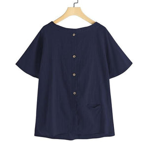 Cecilia Palm Ladies Top