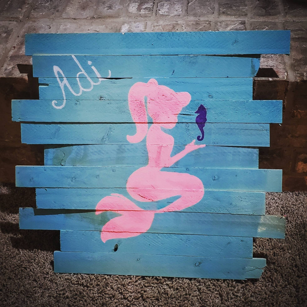 Be A Little Mermaid Sign