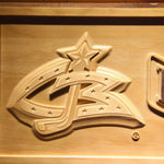 Columbus Blue Jackets 3D Wooden Sign