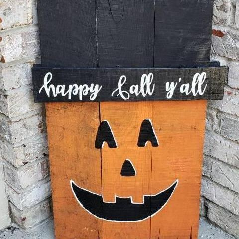 Fall/Winter Pallet Porch Sign
