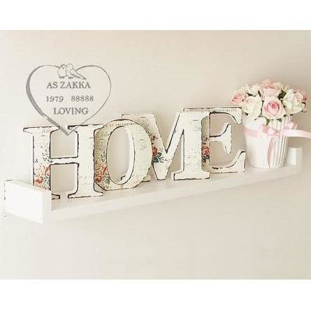 HOME Letter Wooden Letter Home Decor