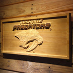 Nashville Predators 3D Wooden Sign