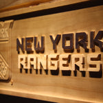 New York Rangers 3D Wooden Sign