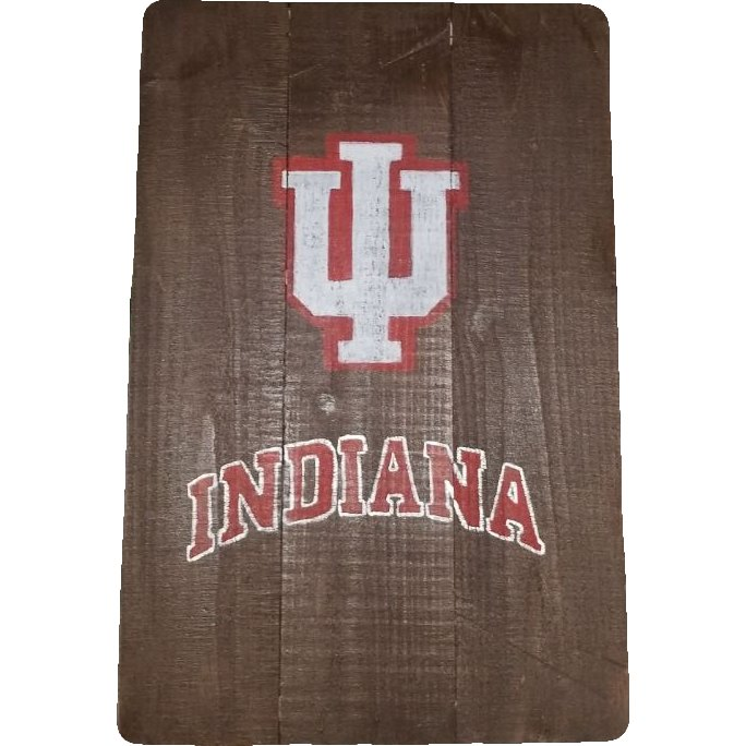 Pallet Sign - IU Indiana Hoosiers Sign