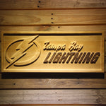 Tampa Bay Lightning 3D Wooden Sign