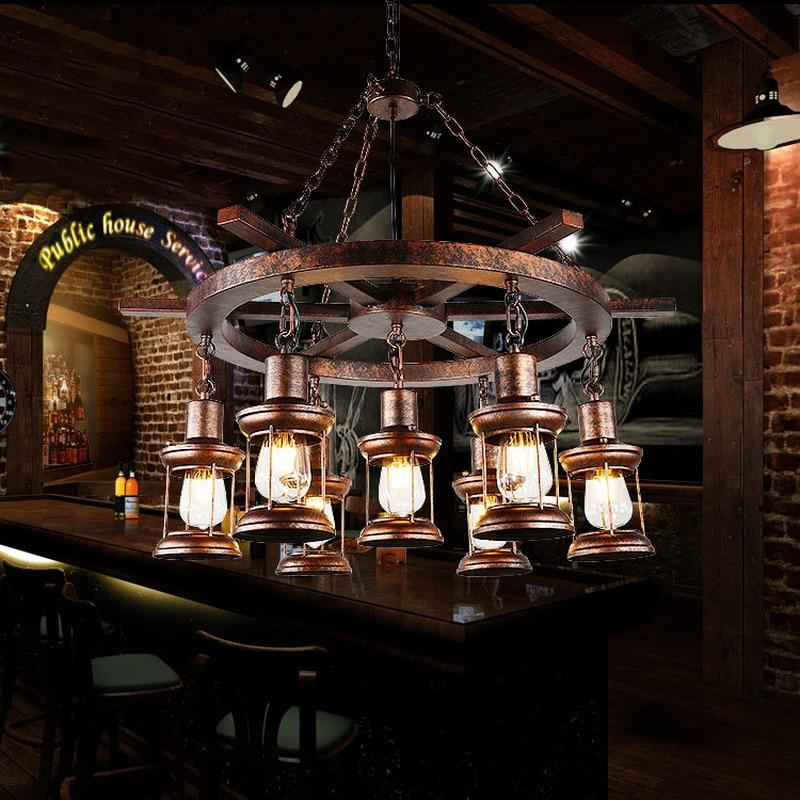 Vintage Wrought Iron Pendant Lights