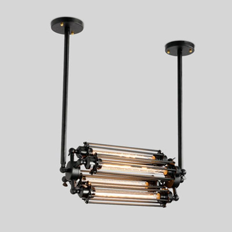 Wrought Iron Loft Industrial Chandelier
