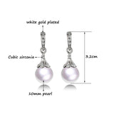 Pearl Drop Earrings For Women Wedding Jewelry Low Price New Fashion
