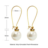meterial of pearl earrings