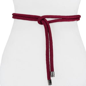 Two 12 Fashion Designer Thick Rope Belt - Two 12 Fashion