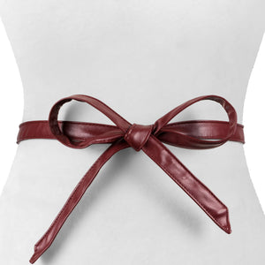 Skinny Wrap Belt - Two 12 Fashion