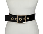 Square Buckle Belt - Two 12 Fashion