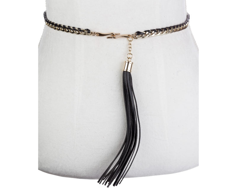 Woven Tassel Belt - Two 12 Fashion