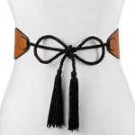 Reversible Wrap with Tassel Belt - Two 12 Fashion