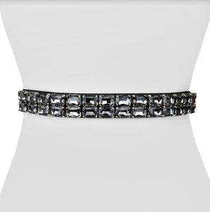 Rectangle Jewel Belt - Two 12 Fashion