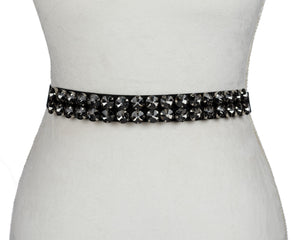 Circular Gems Belt - Two 12 Fashion
