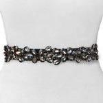Thin Crystal Belt - Two 12 Fashion