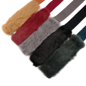 Luxury Fur Stretch Belt - Two 12 Fashion
