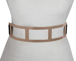 Metallic Window Belt - Two 12 Fashion