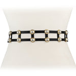 Double Pearl Stretch Belt - Two 12 Fashion