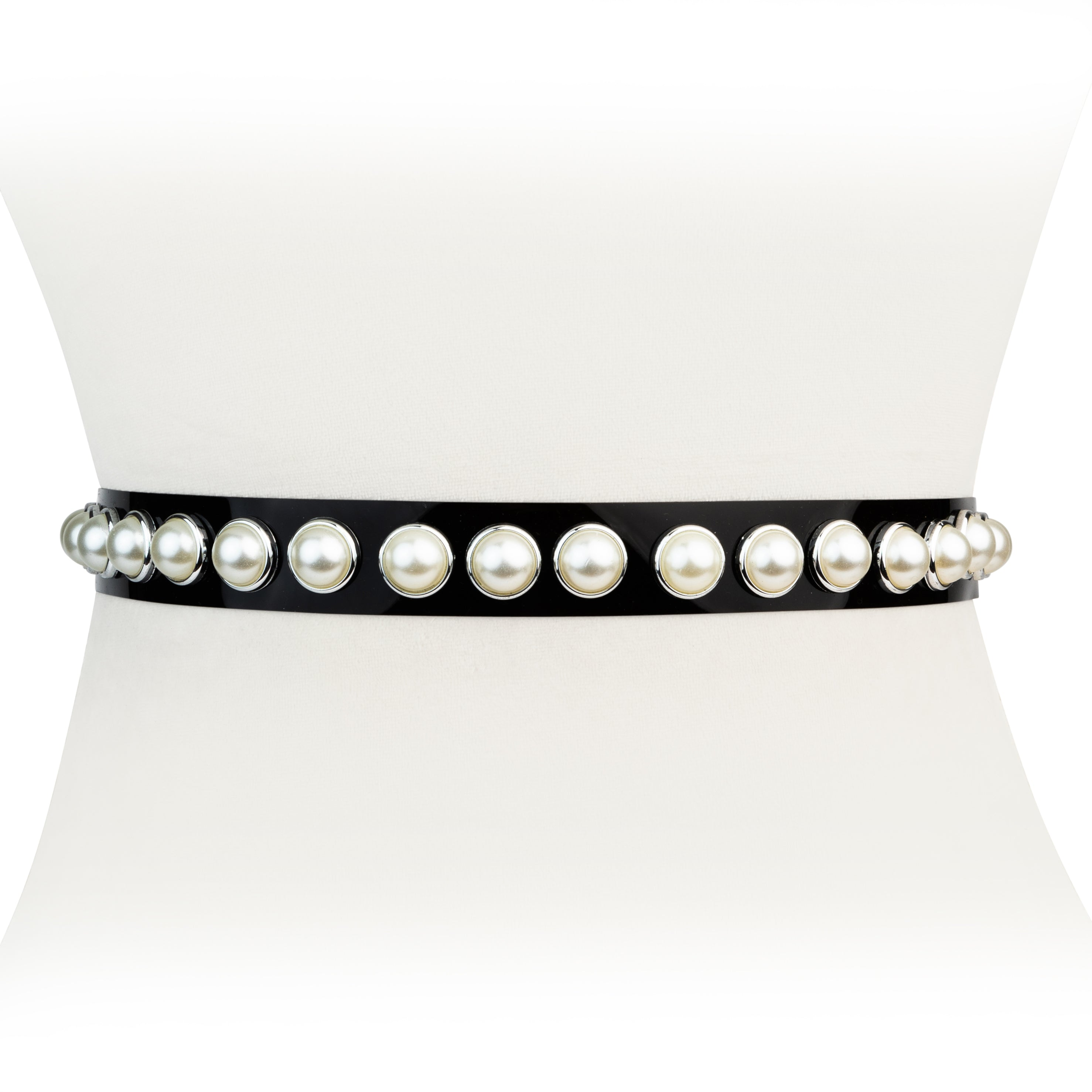 Transparent Pearl Waist Belt For Women - Two 12 Fashion