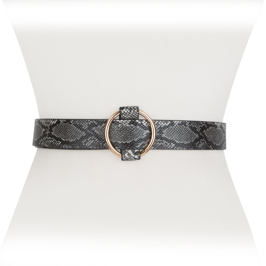 Snakeskin Belt - Two 12 Fashion