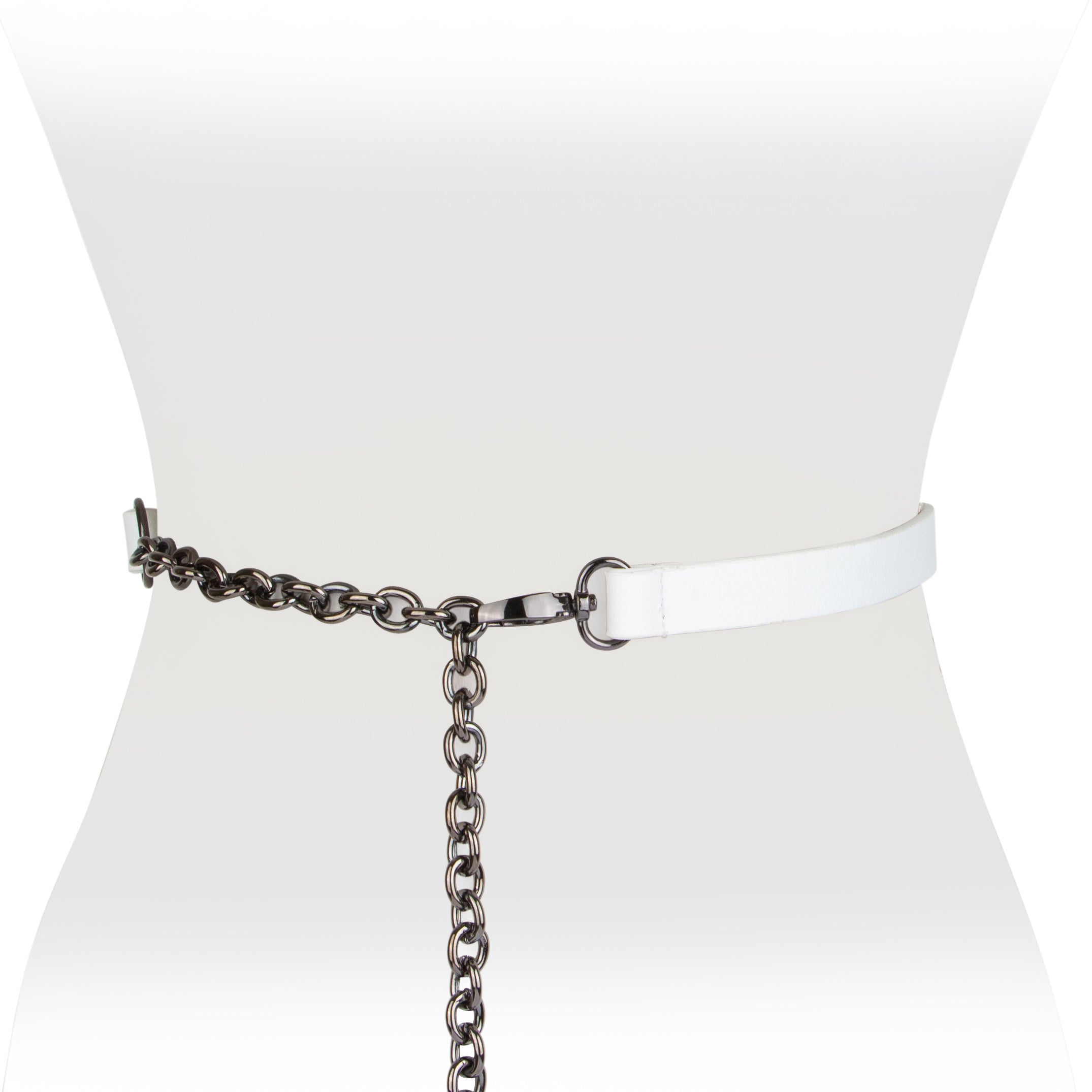 Leather Chain Belt - Two 12 Fashion