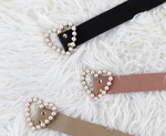 Pearl Heart Belt - Two 12 Fashion