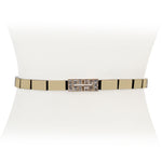 Tetris Diamond Stretch Belt - Two 12 Fashion