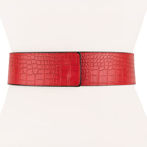 Genuine Alligator Leather Wrap Waist Belt - Two 12 Fashion