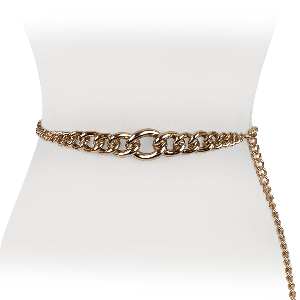 Thick Chain Belt