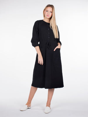 Drawstring Pocket Dress - Two 12 Fashion
