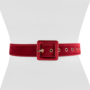 Velvet Square Belt - Two 12 Fashion