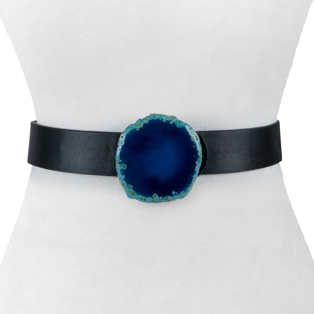 Two 12 Fashion Designer Agate Stone Belt - Two 12 Fashion