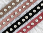 Velour Pearl Belt - Two 12 Fashion