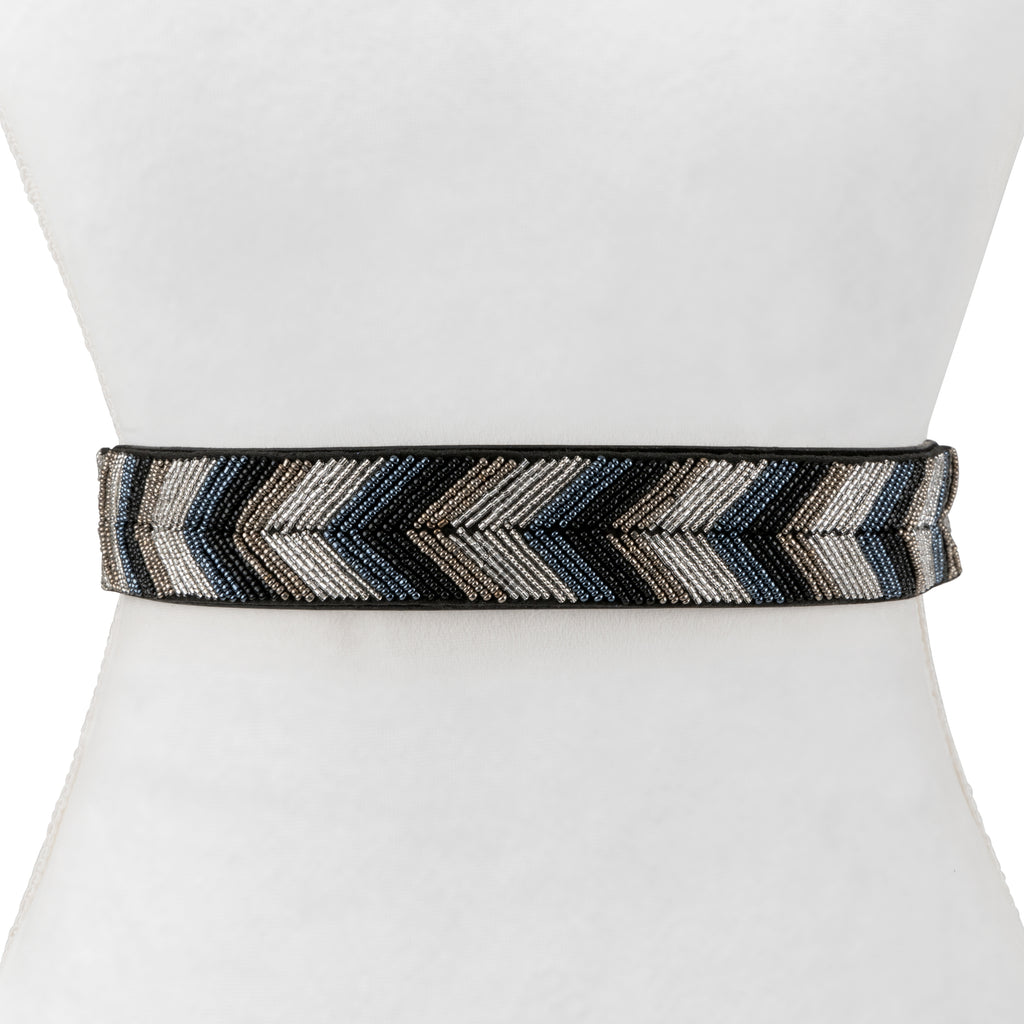 Two 12 Fashion Women's Arrow Bead Stretch Belt - Two 12 Fashion