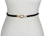 Braided Elastic Clasp Belt - Two 12 Fashion