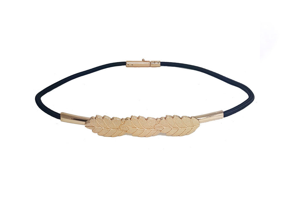 Roman Leaf Belt - Two 12 Fashion