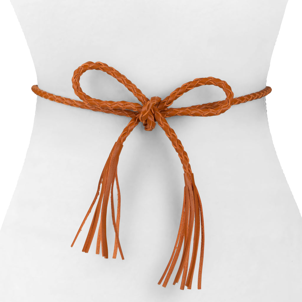 Leather Tassel Belt - Two 12 Fashion