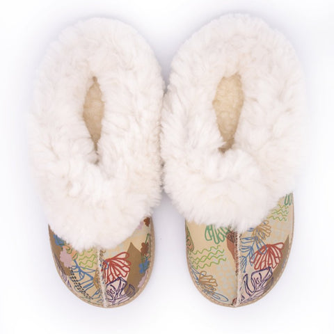 Botanica day Sheepswool Slipper