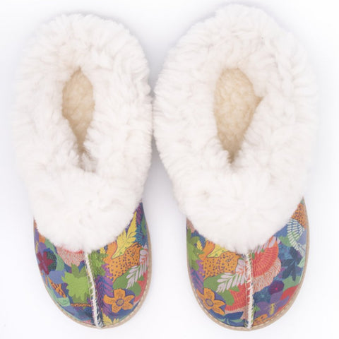 Jungle Sheepswool Slippers